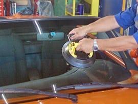 プロ用ガラス吸盤(曲げガラス対応) 使用イメージ -1